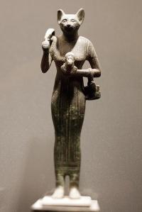 Deus egípcio Bast  Foto: jacques pasqueille em Flickr