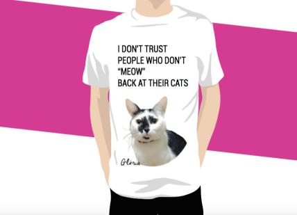 camisetas glória don't trust