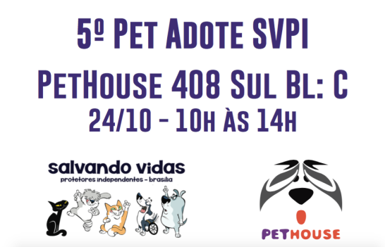 cartaz pet adote